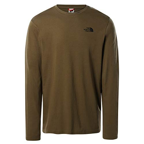 The North Face Men's L/S Easy tee - Camiseta para Hombre Mil....