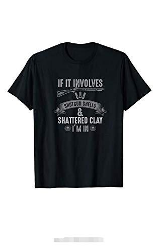 NR ErYGhObM Skeet Shooting T-shirt Clay Pigeon Bird Trap Hunters