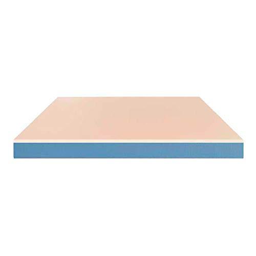 Baldiflex Matelas 160x200 cm Easy Aloe Memory, Épaisseur 17 cm, Mousse à mémoire, Mousse, Revêtement Tissu Aloé Vera, Respirante