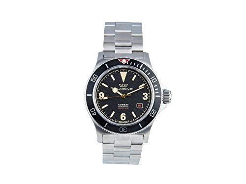 Combat vintage orologio Uomo Analogico Automatico con cinturino in Acciaio INOX GL0261