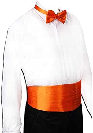 NSXKB Gentleman Solid Wide Silk Satin Elastic Belly Band Tuxedo Cummerbund Commercial Banquet Model Business Elite (Color : C)