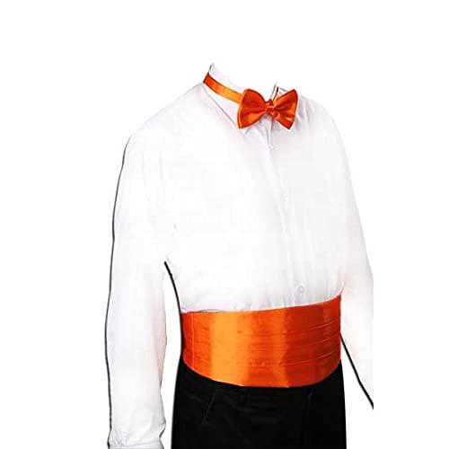 SCDZS Caballero Silida Silida Silv Satin Satin Banda Elástica Tuxedo Cummerbund Modelo de Banquete Comercial Elite (Color : C)