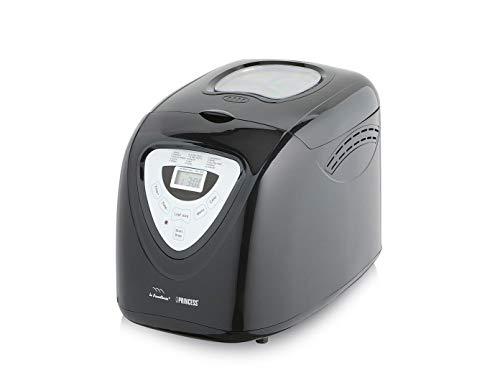 Panificadora de hasta 900 gramos con gancho para amasar, 15 programas para muchos tipos de masa de pan, pasteles y pizza