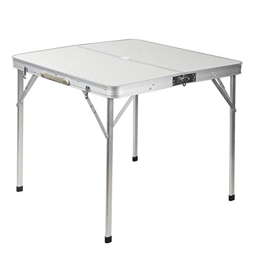 Cloudbox Picknicktisch Outdoor Picknicktisch Aluminiumlegierung Split Folding Mahjong Table Koffer Klapptisch, hohe Tragfähigkeit, kann zum Platzieren von Speisen und Getränken verwende