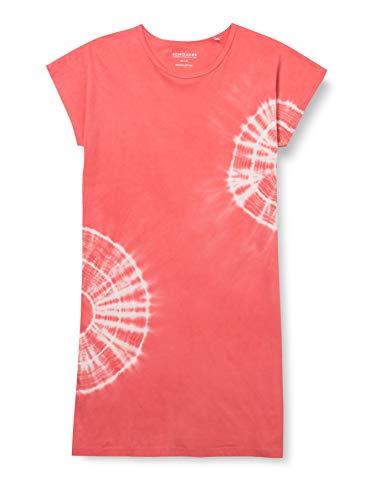 Schiesser Mädchen Sleepshirt 1/2 Nachthemd, Koralle, 140