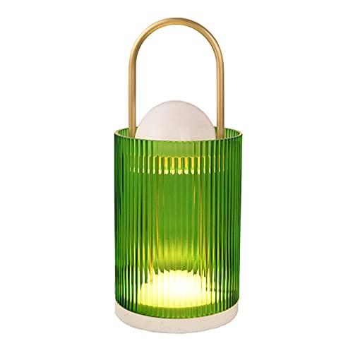 QLIGHA Lámpara Calentador De Velas Hogar Mármol Temporización Atenuación Aromaterapia Cera Lámpara De Fusión Vidrio Quemador De Cera Eléctrico Luz De Vela Luz De Regalo Decoración De Lujo
