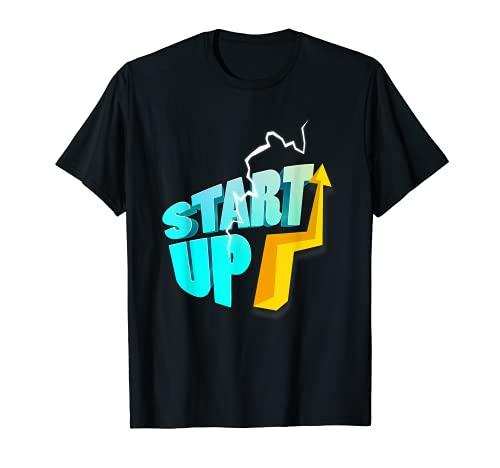Emprendedor Empresario Empresa Motivación Empresa Fundadora Camiseta