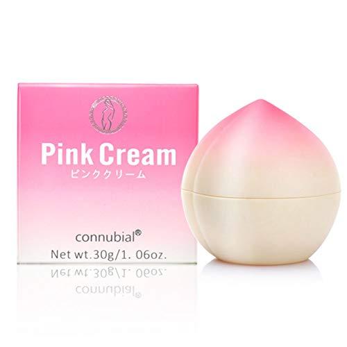 Crème de blanchiment intime, Crème rose, KISSION Intimate Pink Privates Parts Blanchiment crème éclaircissante rose Gel blanchissant crème réparatrice Crème hydratante