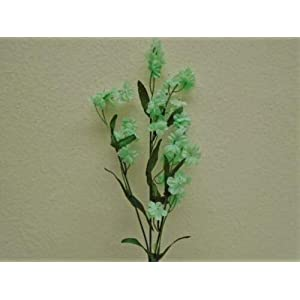18″ Bouquet 12 Sprays Seafoam Gypsophila Baby Breath Filler Artificial Silk Flowers LivePlant