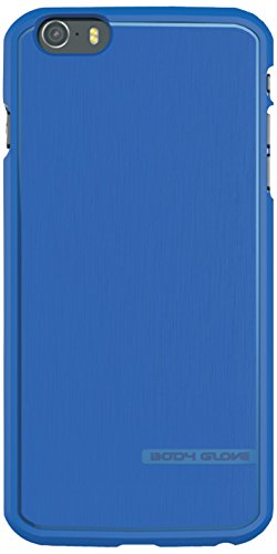 Body Glove Satin Series Case for iPhone 6 Plus, 5.5 Inch Screen - Retail Packaging - Blueberry