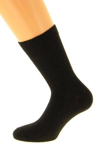 Chaussettes fil d'Ecosse (45/47, noir)