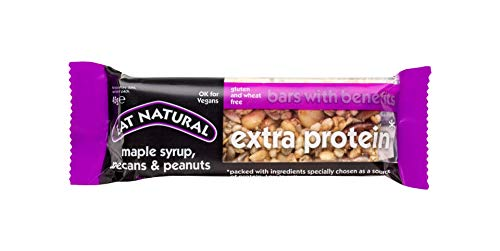 Eat Natural Extra Protein Maple Syrup, Pecans & Peanuts Bar 12x45g