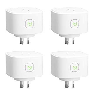 Meross Smart Plug WiFi Outlet with Energy Monitor, App Remote Control, Timing Function, Compatible with Alexa, Google Assistant, SmartThings and IFTTT, SAA & RCM Certified - 4 Pack (B07MNL86JJ)   Amazon price tracker / tracking, Amazon price history charts, Amazon price watches, Amazon price drop alerts