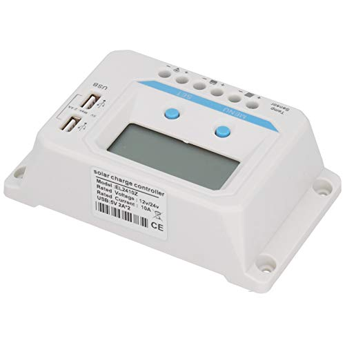 Controlador de carga solar para el hogar Pantalla LCD para el hogar Control USB PWM para el hogar con pantalla LCD