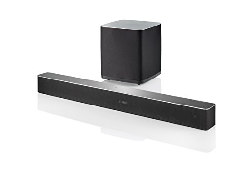 LG LAC955M 7.1 - Soundbar, 700 Watt, Subwoofer Senza Fili, Bluetooth, WLAN, Radio Internet, Nero
