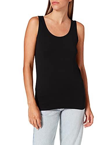 Cecil 311049 Linda Camiseta sin Mangas, Negro (Black 10001), X-Large para Mujer