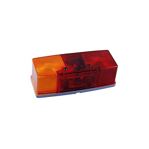 Jokon Dreikammerleuchte BBS(K) 510 L mit und ohne Kennzeichenleuchte links, Rot