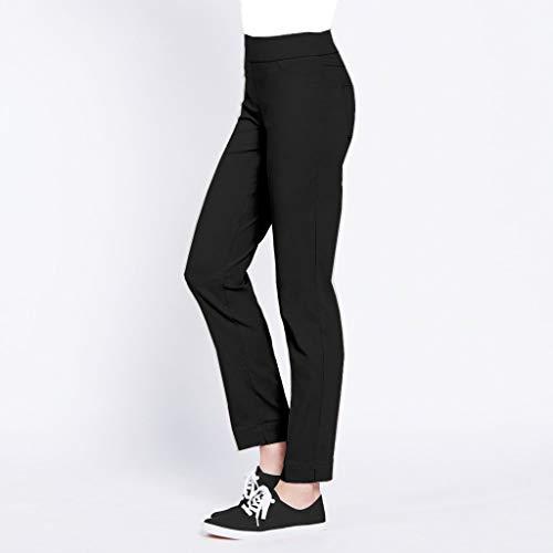 SLIM-SATION Women's Ankle Pant (Black,8)