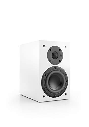 Nubert nuBox 303 Dipollautsprecher | Lautsprecher für Heimkino & HiFi | Musikgenuss auf hohem Niveau | Passive Surroundbox mit 2 Wege Technik | Kompaktlautsprecher Weiß | 1 Stück