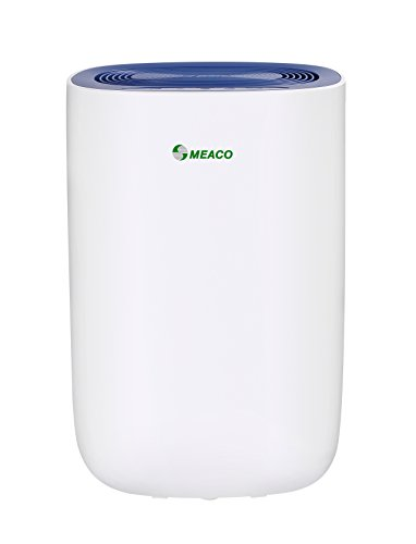 Meaco MeacoDry Dehumidifier ABC Range 10L (Green) Ultra-Quiet, Energy Efficient, Laundry Mode, Auto-off, Auto De-Frost - Ideal for Damp and Condensation in the Home