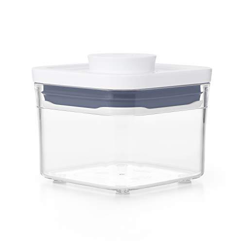 Oxo Good Grips Contenitore Pop-0,4 L, Adatto per Erbe Aromatiche e Simili, Transparente