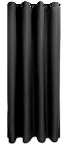 Mack de alta calidad–Cortina con ojales (140x 245cm) Visión resistente al o luz permeable Individual o doppeöpack muchos colores