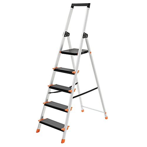 SONGMICS -   Leiter 5 Stufen,