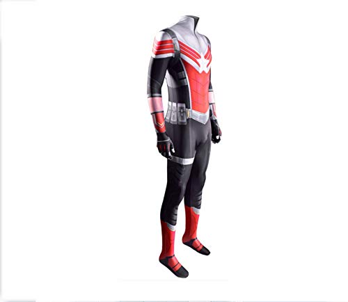 LEDLFIE Bambini Adulti Unisex Character Name The Falcon And The Winter Soldier Captain America Cosplay Stage Costume, Lycra Spandex, Body Halloween Costume Cosplay, Collant Cosplay