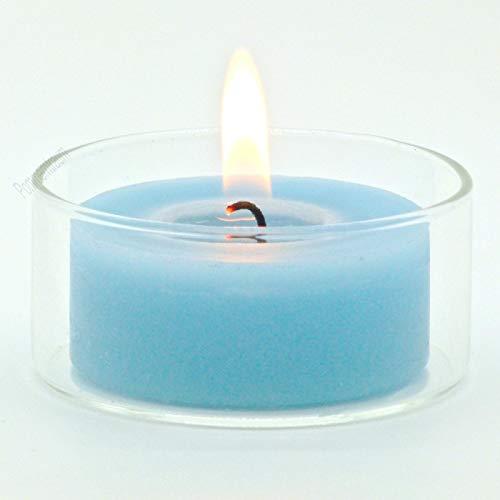 POMMERNTRAUM ® | 10 STÜCK - Jumboteelichtglas für MAXITEELICHTER | Maxiteelichtglashalter | Maxiteelichtgläser | GLASKLAR