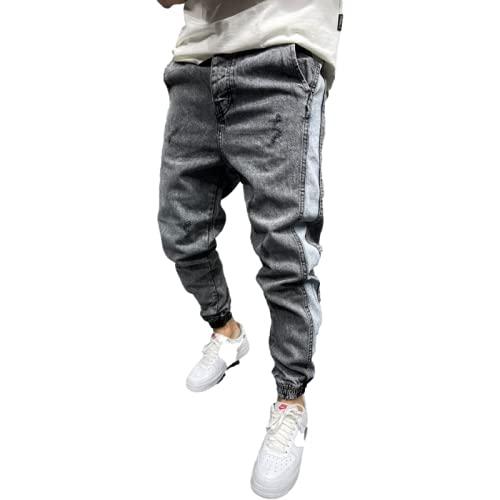 Herren Jeans Trendy Color Matching...