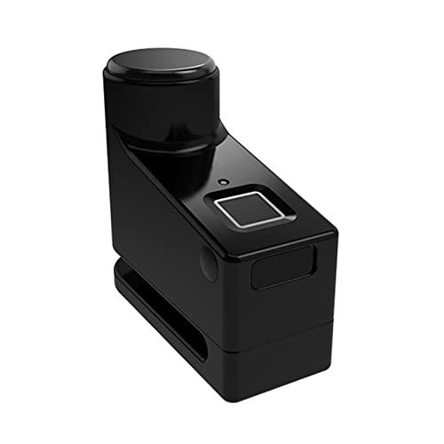 Cerradura de la puerta Cerradura de freno de disco de huellas digitales inteligentes Bloqueo antirrobo biológico Bluetooth Bloqueo eléctrico IP65 Rueda de motocicleta a prueba de agua PA Picaportes