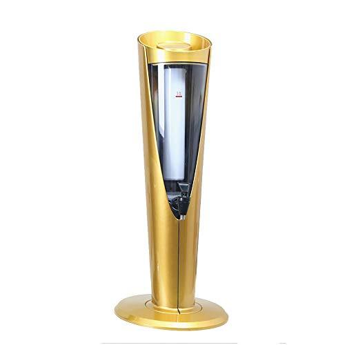 BGROESTWB Máquina de Bebidas de Cerveza Dispensador de la Cerveza con el refrigerador del dispensador de la Bebida con Hielo Core Compartimiento de 65cm de Alta 3L Accesorios de Cerveza