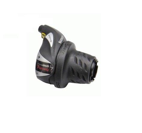 Cambio Shimano Manetti DX Revoshift per bicicletta - Disponibile a 6V - 7V (7 Velocità)