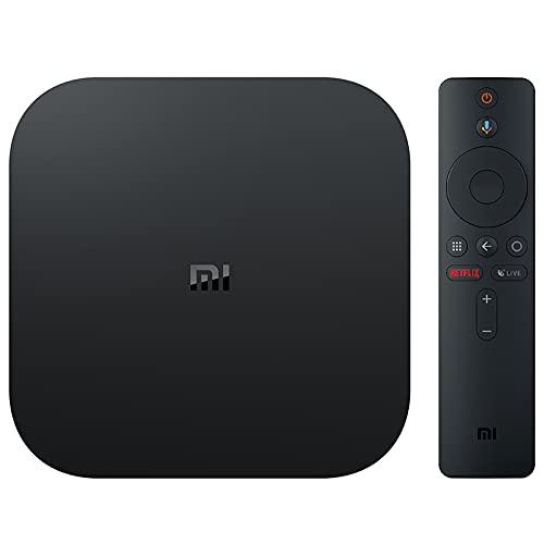 Xiaomi Lecteur TV Mi TV Box 4K Quad Core 2 GB RAM 8 GB Noir