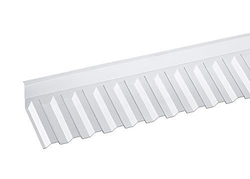 Wandanschluss Trapez 70/18 für Wellplatten, Lichtplatten, Profilplatten