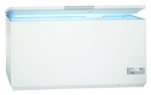 AEG ARCTIS A93200HLW0 Gefriertruhe/A+++ / 87,60 cm Höhe / 150 kWh/Jahr / 327 L Gefrierteil/Innenbeleuchtung/LowFrost-Technik/weiß