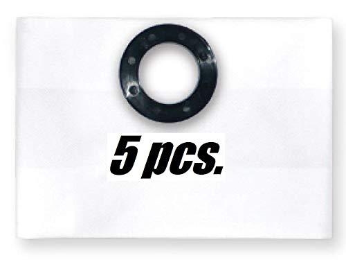 5X stofzak filterzak voor industriële stofzuigers passen bij Festool FIS-SR 150