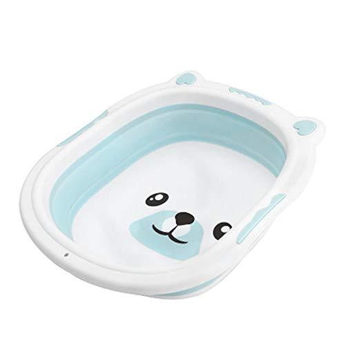 Jenify Portátil bebé bañera Plegable Lavabo Silicona Lavabo Plegable Turismo niños Lavado...