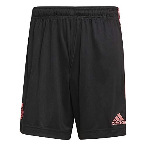 Adidas - Pantaloncini Real Madrid (XL, nero)