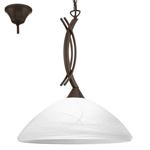 Preisvergleich Produktbild EGLO VINOVO Hängeleuchte,  Stahl,  E27,  60 W,  dunkelbraun