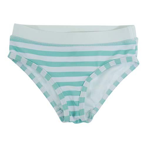 Banz Baby Costume da Bagno Slip Mare, Bambina Anti-UV, Anchor Stripes, 4 Anni.