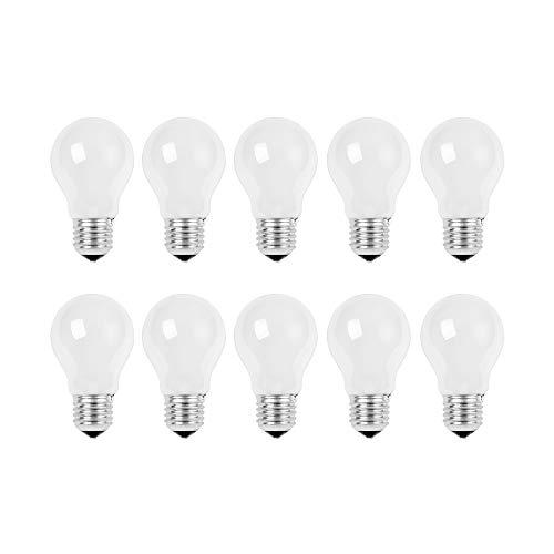 10 x Glühbirne 25W E27 MATT Glühlampe 25 Watt Glühbirnen Glühlampen