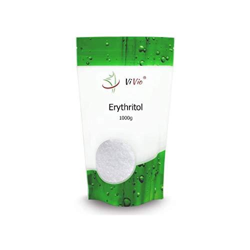 Eritritol Vivio. Edulcorante 100% Natural y Bajo en Calorías. Pack Ahorro de 1 kg.