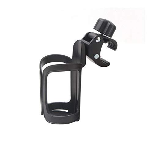 NOLOGO Yg-ct Universal-Auto-Fahrrad-Flasche-Getränk-Halter-Schwarz-Wasser-Schal Hang Halterrahmen for Fahrrad-Kinderwagen-Getränkehalter Zubehör (Farbe : Schwarz)
