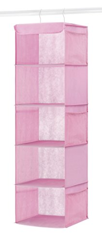 Whitmor Hanging Accessory Shelves, Pink
