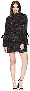 MINKPINK Women's Etoile Printed Tunic Bell Sleeve Dress