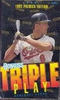 Best donruss triple play baseball cards Reviews
