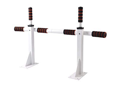 KingSaid - Barra de dominadas para montar en la pared, barra para pull-up, barra entrenamiento variado, para entrenamiento en casa, gimnasio, blanco