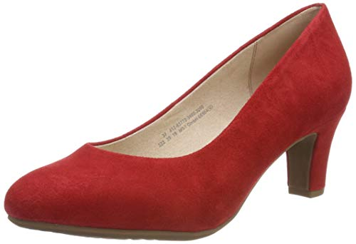 bugatti Damen 412637703400 Pumps, Rot (Red 3000), 39 EU