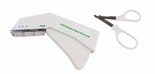INSGB Disposable Skin Stapler and Stapler Remover Set, CE